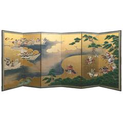 18th Century Japanese Battle Screen