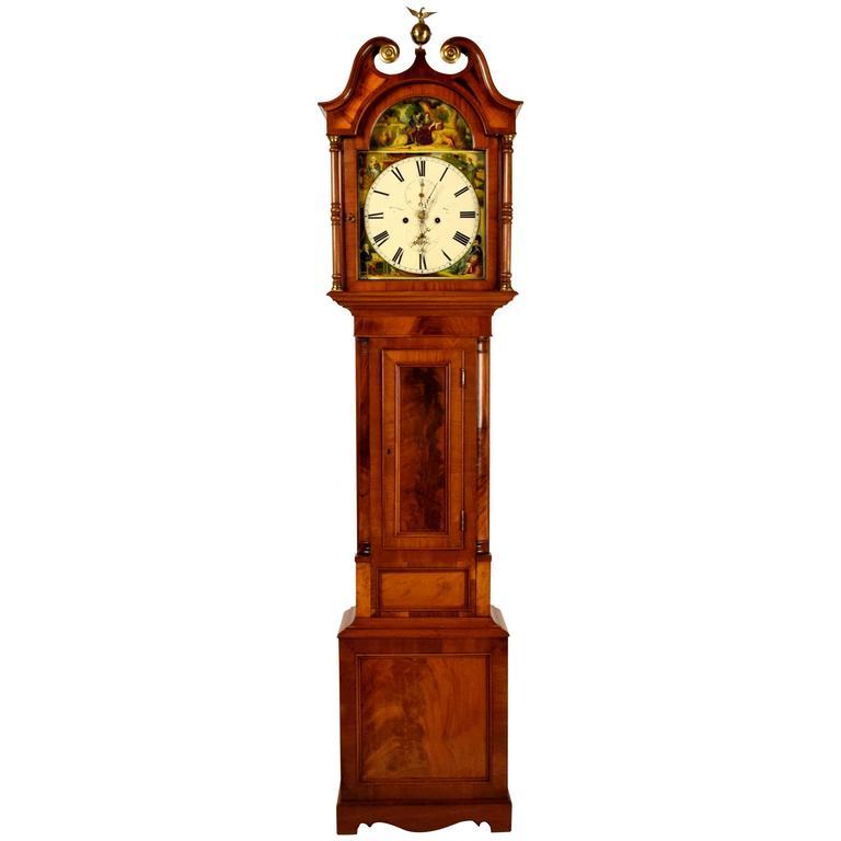 Late 18th Century Tall Case Clock