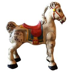 Mobo Toys Steel Riding Hobby Horse