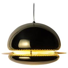"Brass ""Nictea"" Hanging Lamp by Afra & Tobia Scarpa for Flos, 1962"