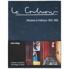 """""""Le Corbusier Meubles et Intérieurs"""" Book"""