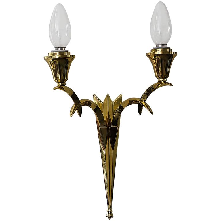 Wall Lamp Art Deco : Wall Lamp Art Deco Vienna, 1920s For Sale at 1stdibs