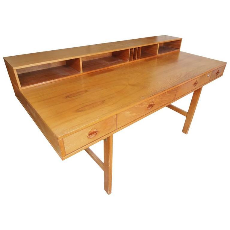 Mid-Century Teak Desk by Peter Lovig Nielsen, 1970