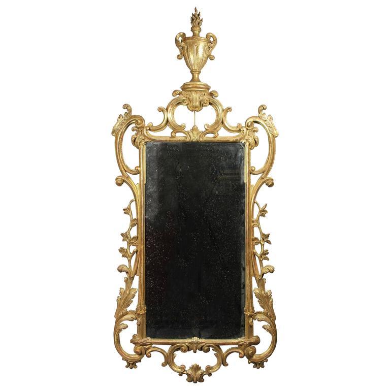 George III Giltwood Mirror