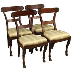 19th Century Group of Four Italian Chairs