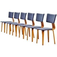 Cor Alons Plywood Dining Chairs Gouda den Boer, 1949
