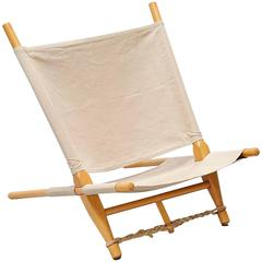Ole Gjerlov Knudsen Saw Lounge Chair Cado, Denmark, 1958
