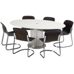 Italian Dining Room Set by Salocchi and Cidue