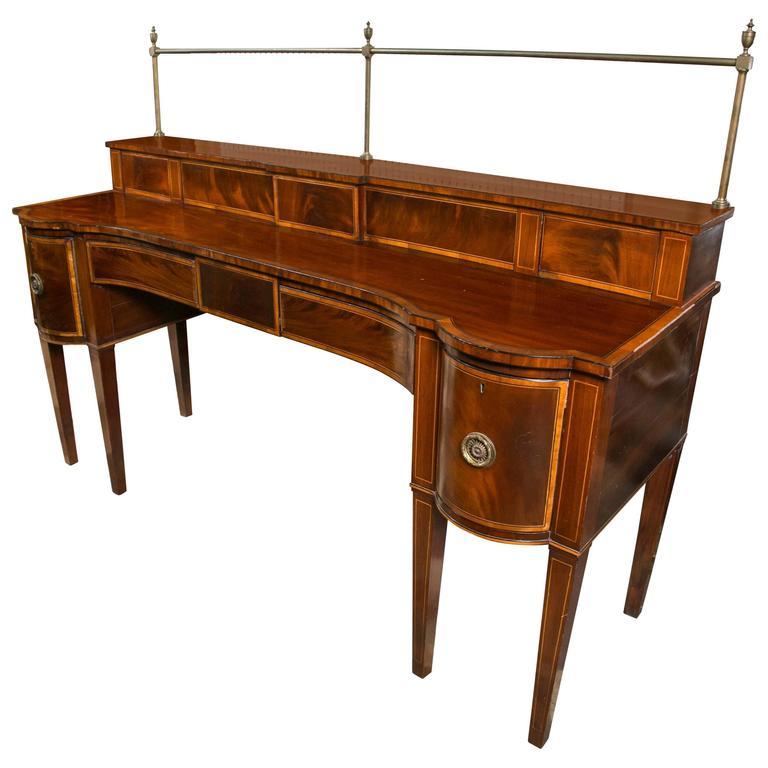 18th Century Scottish Mahogany Hepplewhite Sideboard