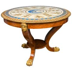 Russian or Baltic Unusual  Center Table