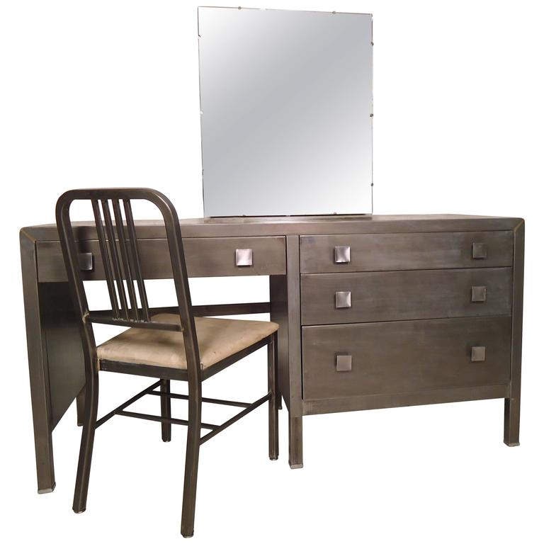 Unique Metal Vanity Restored