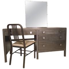 Unique Metal Vanity Restored
