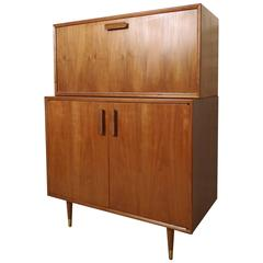Rare Mid-Century Bar and Cabinet