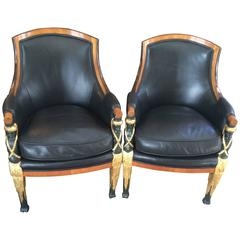 Very Handsome Pair of Regency Chairs
