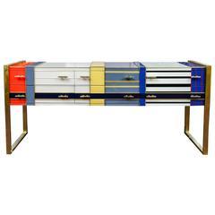 Buffet in Tribute to Piet Mondrian