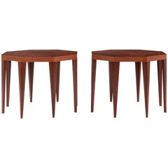 Pair of Roberto Sorrondeguy Side Tables