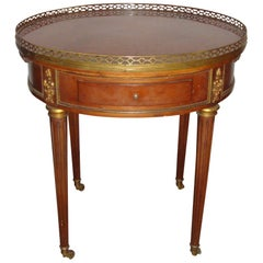 French Louis XVI Style Bouillotte Table Manner of Jansen