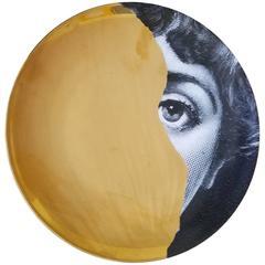 Fornasetti Gold Tema E Variazioni Plate, Number 145