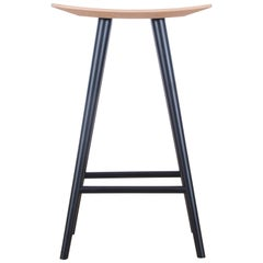 Mid-Century Modern Danish Bar Stool Model Mikado