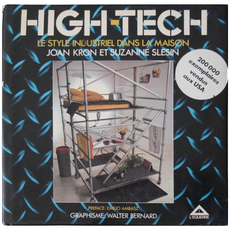 high tech le style industriel dans la maison book for sale at 1stdibs. Black Bedroom Furniture Sets. Home Design Ideas