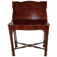 Chippendale Serving-Card Table Tilt-Top Table