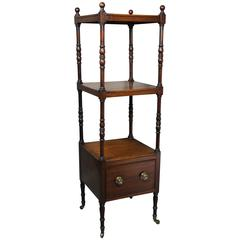 Regency Mahogany Whatnot