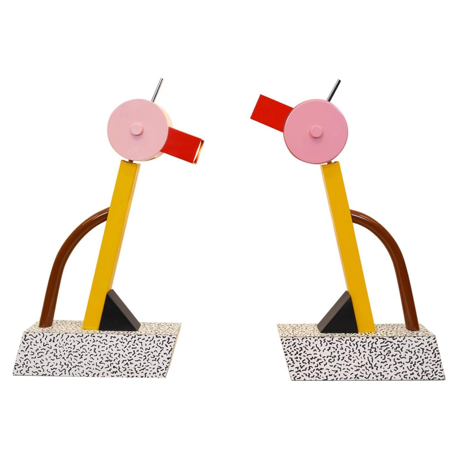 Table lamp tahiti by ettore sottsass for sale at 1stdibs for Memphis sottsass