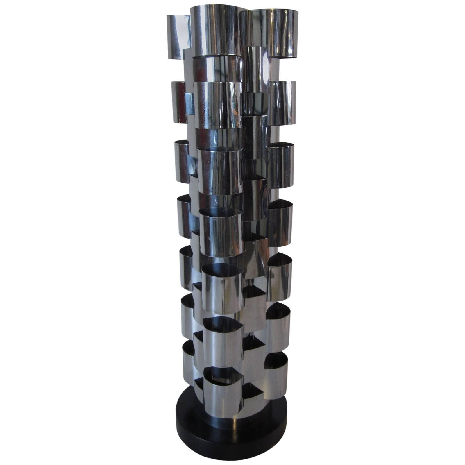Curtis Jere Interlaced Sculptural Table Lamp