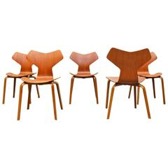 Grand Prix Chairs by Arne Jacobsen