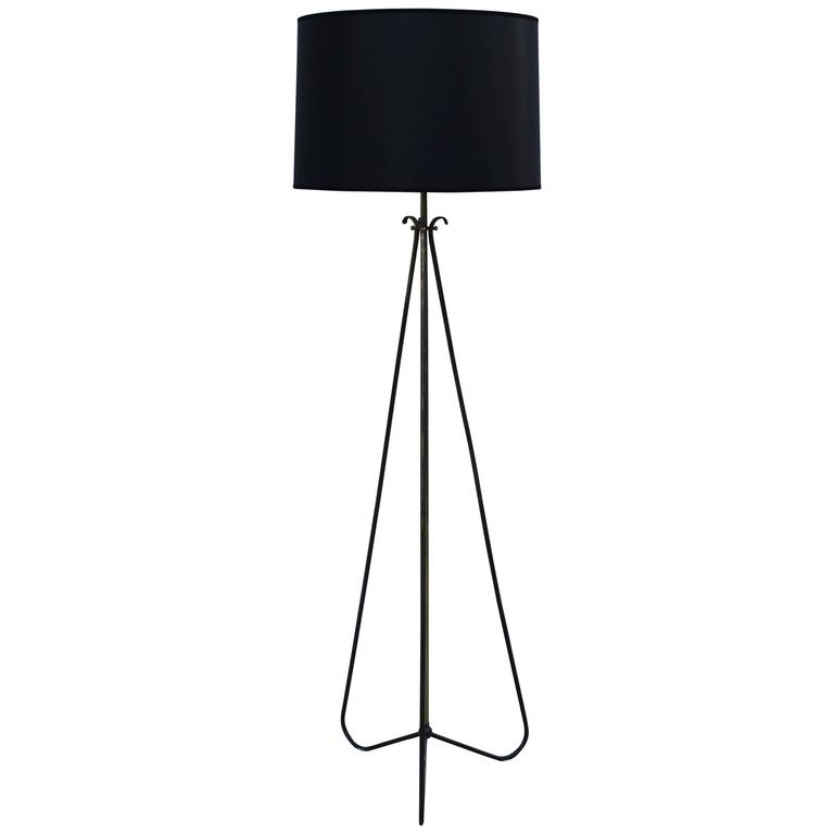 1950s Italian Tripod Floor Lamp For Sale At 1stdibs