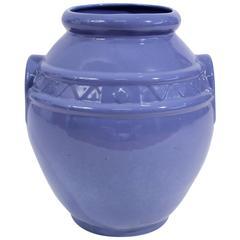 Arts & Crafts Large Alamo Pottery Garden Oil Jar Urn Jardiniere
