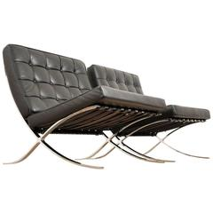 Mies Van Der Rohe Barcelona Chairs for Knoll