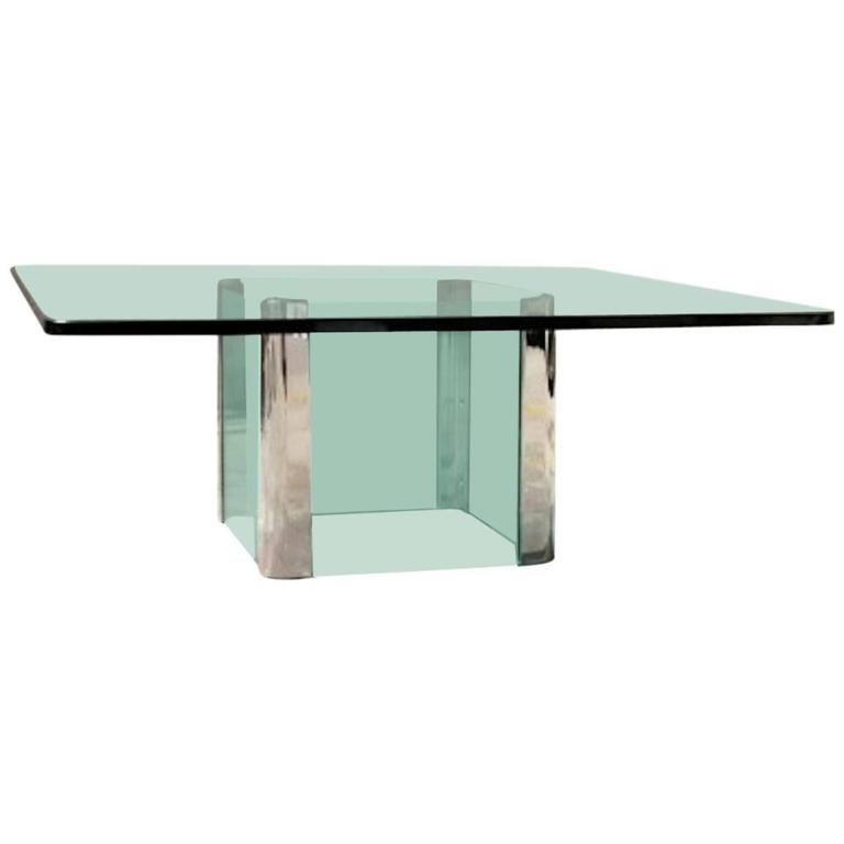 Waterfall Cocktail Table by Leon Rosen for Pace