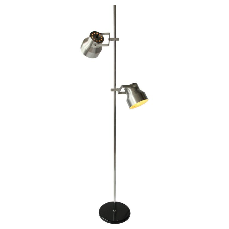 Minimalist modern floor lamp from dijkstra lampen holland for Vintage lampen