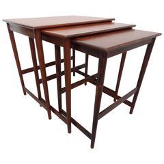 Vintage, 1960 Danish Teak Nesting Tables