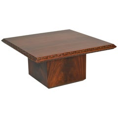 Frank Lloyd Wright End Table  Heritage Henredon Taliesin Mahogany, 1955