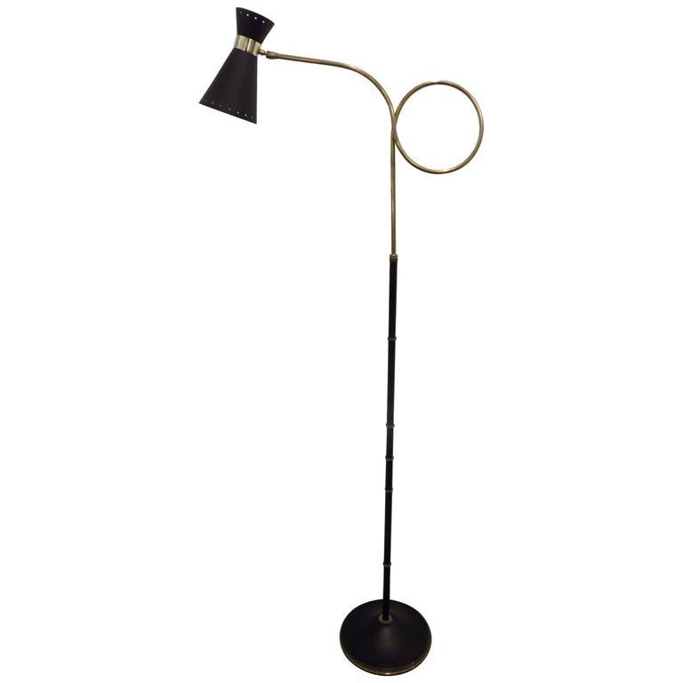1960s Maison Lunel Floor Lamp 1