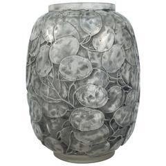 """René Lalique Vase """"Monnaie Du Pape"""""""