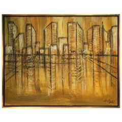Cityscape by Chen Chi