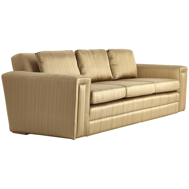 Paul Frankl Custom Sofa, 1940s, Pair Available