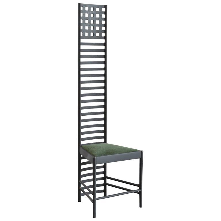 Miniature Charles Rennie Mackintosh Hill House 1 Chair At