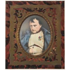 19th Century Napoleon Bonaparte Miniature Portrait
