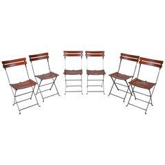 Set of Six Celestina Chairs by Marco Zanuso for Zanotta, Italy