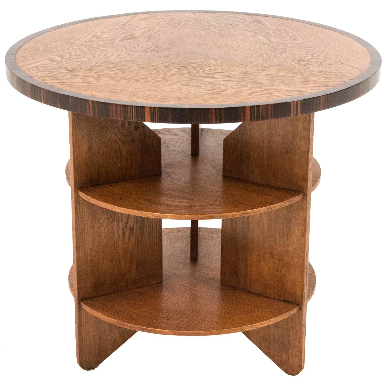 Funky Coffee Tables: Funky Art Deco Haagse School Coffee Table By Pel Izeren