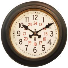 Siemens Halske Bauhaus Factory or Workshop Wall Clock
