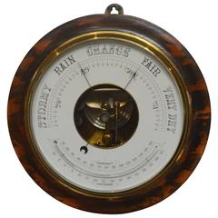 Large Circular Aneroid Barometer