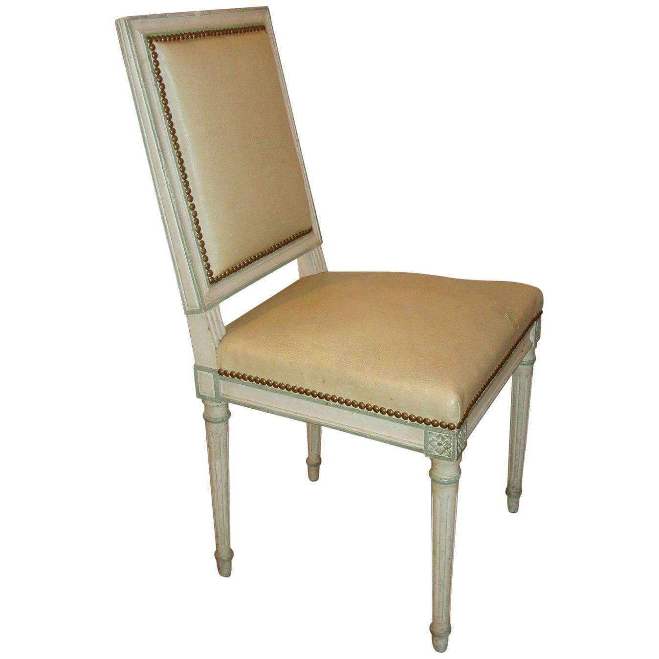 Maison Jansen Paint Decorated Side Chair