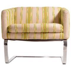 Selig Chrome Club Chair