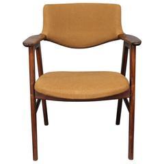 Armchair in Rosewood by Erik Kirkegaard, 1960s