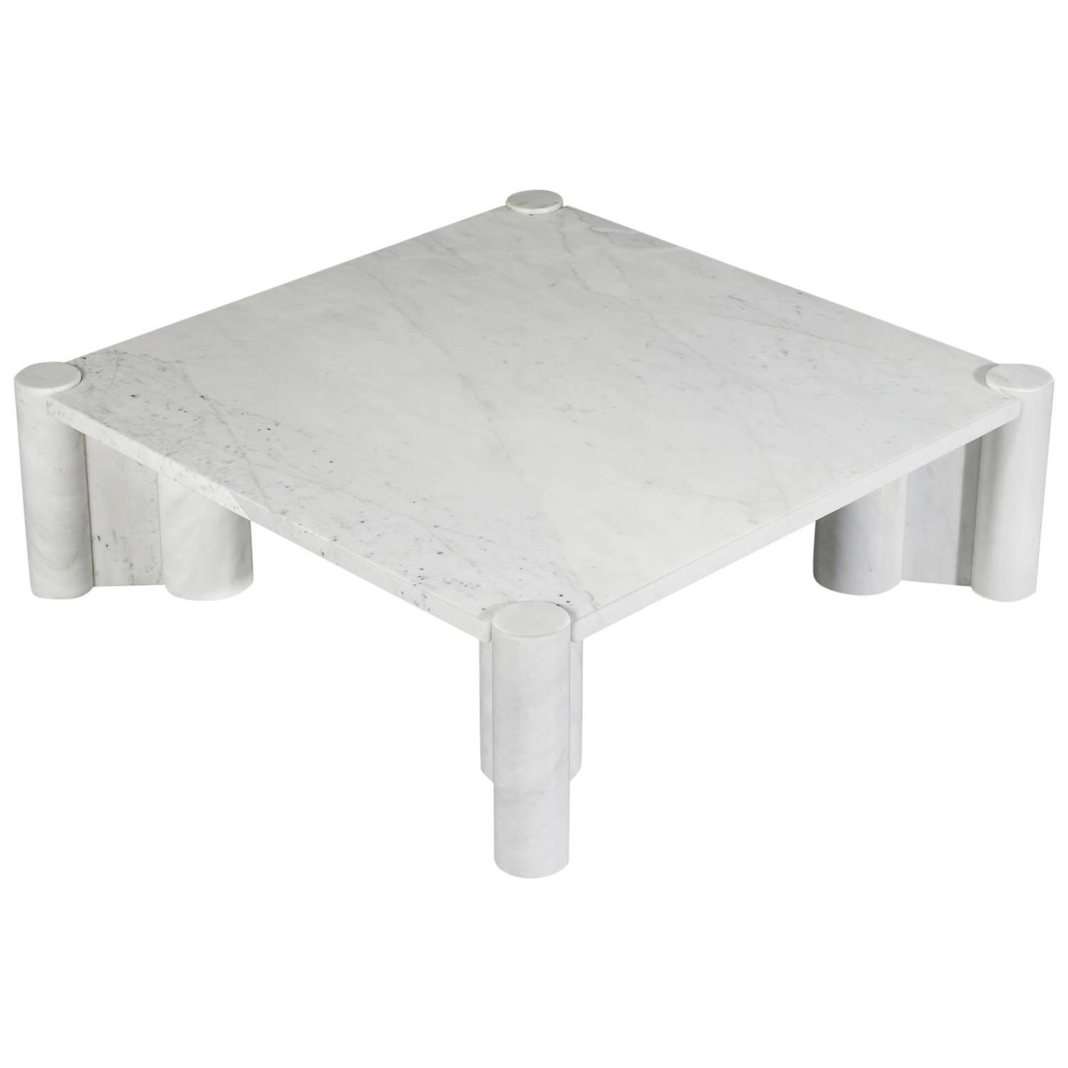 Gae Aulenti Marble Jumbo Coffee Table for Knoll International